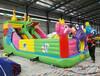 4.5X9米充气蹦蹦床充气城堡厂家直销儿童床滑梯价格优惠