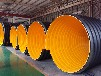 pe钢带管hdpe增强钢带波纹管生产厂家规格报价