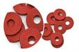 廠家加工環保PB紅鋼紙電機槽楔紅色快巴紙墊片定制模切沖型