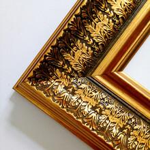厂家出口定做12公分复古欧式油画线条,欧式画框线条,欧式镜框线条图片