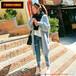 天津红桥秋冬季圆领中长款毛衣宽?#21830;?#22836;长袖格子针织打底连衣裙女批发修身便宜毛衣批发