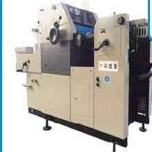 WSQ62Ⅱ(三墨两水)四开单色胶印机图片