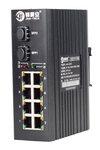 锦昊安工业级千兆2光8电光交换机PoE功能可选