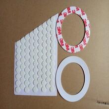专业生产福建半透明格子防滑垫,塑胶T2.0硅胶脚垫图片