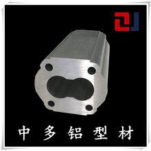 中多齿轮泵体铝型材铝合金液压齿轮泵体6005工业铝型材定制加工