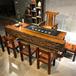 老船木茶桌椅組合功夫泡茶桌客廳茶幾茶臺現代中式
