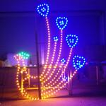 凰凰造型灯、LED路灯杆凤凰图案灯造型·过街灯·景观灯、LED龙型造型灯图片
