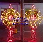 红红火火造型灯、LED路灯杆造型灯、彩虹管·图案灯·LED过街灯图片
