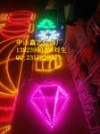 LED路灯杆造型灯钻石之歌灯杆造型装饰LED过街灯LED造型灯图片