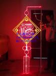 LED路灯杆造型灯福到中国灯杆造型装饰LED中国结LED造型灯图片