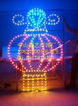 LED路灯杆造型灯大红灯笼灯杆造型装饰过街灯LED造型灯图片