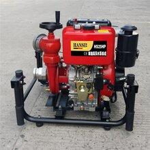 安防2.5寸手抬柴油消防泵用翰丝品牌图片