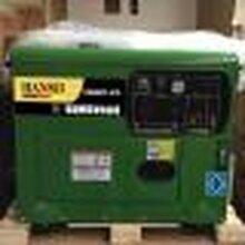 全自动无人看守5千瓦单三相静音柴油发电机图片