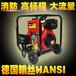消防泵4寸大流量气动柴油抽水机