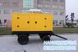75千瓦拖车箱式静音发电机组翰丝造