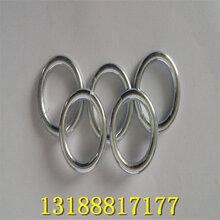 銷量不錯的鐵圓環鍍鋅鐵圓圈金屬圓環圖片