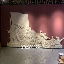玻璃钢浮雕雕塑哪家好佛山革命主题浮雕雕塑定制厂