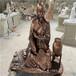 人物玻璃鋼雕塑品牌、茂名仿銅人物雕塑