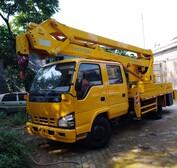 18米杭州愛知折疊高空作業車