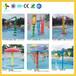 海南省三亚市童年风车儿童乐园小区水上滑滑梯组合安装海棠小区全套游乐园水上滑梯价格