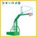 湖南株洲学校中小学生仿CBA篮球架厂家体育馆训练式方管可移动篮球架批发安装