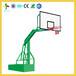 湖南株洲凹箱式篮球架厂家童年风车拉爆式学校篮球架批发供应