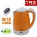 万利达小家电快速电水壶批发1.8L不锈钢烧水壶防烫电热水壶厂家