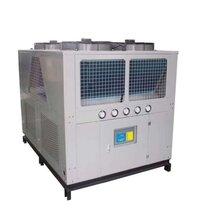 风冷式冷水机的厂家冷冻机图片