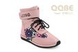 成都童鞋批发厂家2016年冬季新款儿童皮靴--亲情贝儿女童棉靴