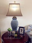 出口美国原单uttermost陶瓷台灯美式裂纹台灯客厅书房样板房装饰