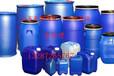 江苏宿迁200升铁箍桶开口塑料桶200l闭口双环桶供应皮重10.5公斤