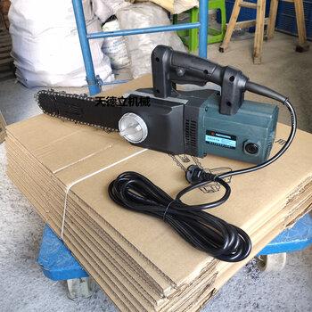 泡沫砖切割机轻质砖切割链锯220V电动切砖机