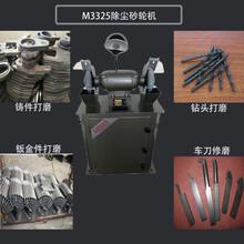 M3325除尘式砂轮机250型立式砂轮机车间用吸尘打磨机图片