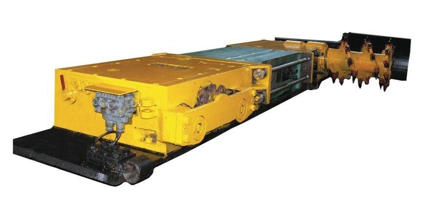 -TWD薄煤层交流电牵引采煤机(无链)-薄煤层采煤机报价 厂家图片