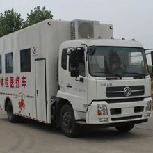东风天锦1160型体检医疗车(国V)图片
