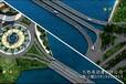 中山桥梁三维动画桥梁施工动画中山桥梁道路动画3D动画公司