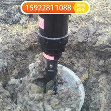 重庆厂家直销挖掘机螺旋钻机液压打桩机多种型号螺旋钻价格便宜图片