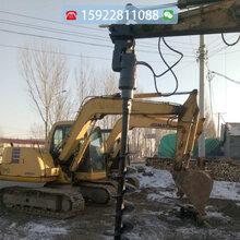 植树挖坑机重庆厂家直供螺旋钻机图片