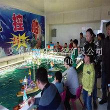 大型儿童水上乐园方向盘遥控船水上游乐设施游乐设备厂家直销