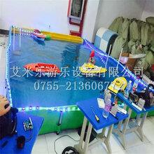 儿童广场玩具摆摊游乐设备第四代方向盘遥控船大型水上亲子项目水上乐园厂家直销赚钱设备游乐园设施