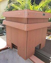 昆明花箱哪家比较好木质组合花箱批发宙锋科技