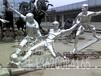 鄂州人物不锈钢雕塑
