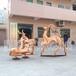 鄂州小鹿不锈钢雕塑