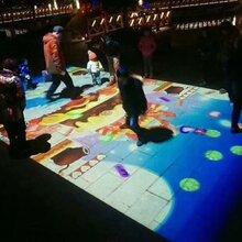 地面互动投影机地面互动游戏创意互动地面地面投影互动系统方案