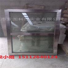 深圳坪山区专业设计定制防爆窗的厂家,石油化工有钢制固定窗图片