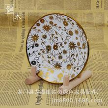 健木厨房置物架普洱茶置物饼支架创意家居工艺品