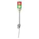 施耐德三色指示灯XVGB2SM代理2层灯柱,24V常亮,折叠底座,带蜂鸣