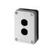 供应施耐德按钮盒XALB02C按钮盒(可装2只金属钮)批发价格