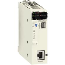 施耐德plc编程软件BMXP341000标准CPU,内置USB口和Modbus供应图片