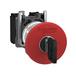 施耐德急停按钮选型XB4BS8444紧急停机按钮Ø22-蘑菇头Ø40红供应价格